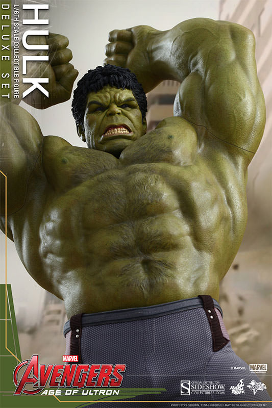HOT TOYS  Hulk Sixth Scale Figure by Hot Toys… 2 sets!  b4bf22fae